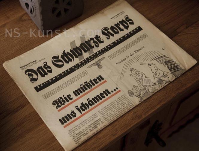 Das Schwarze Korps SS Newspaper