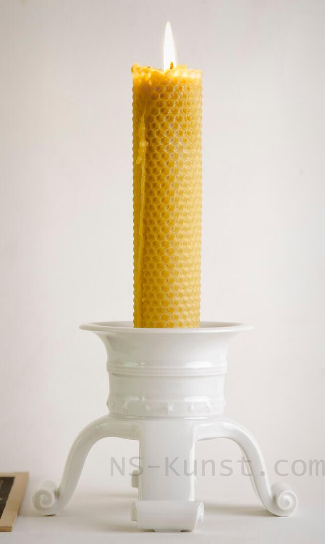 Allach Porcelain Kerzenhalter by Diebitsch
