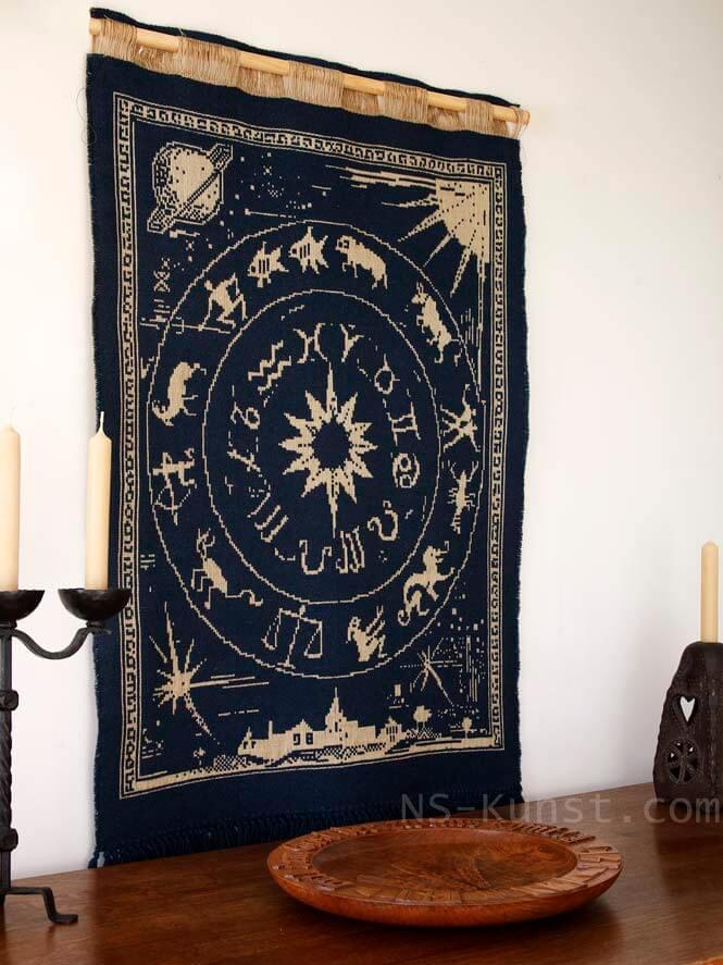 meldorfer weberei wandteppich wandbehang ns kunst. Black Bedroom Furniture Sets. Home Design Ideas