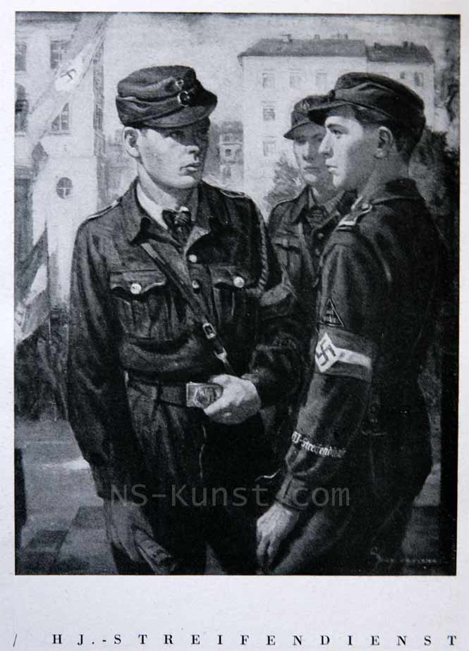 Deutsche Kuenstler und die SS