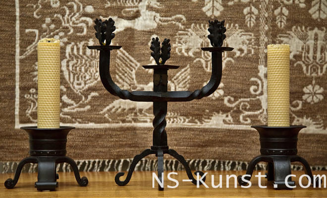 NS-Kunst_Oakleaf-Candle-Holder-1