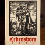 SS Lebensborn 1936 Book